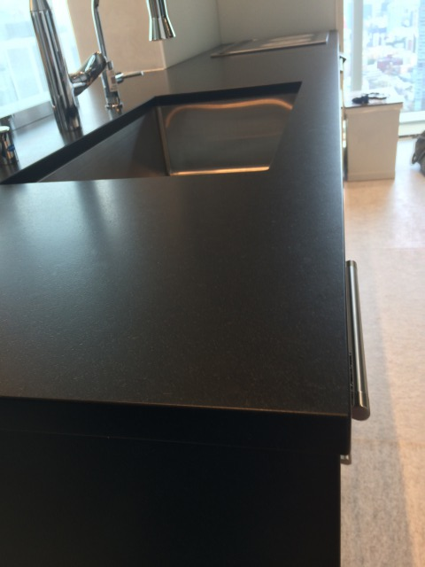 黒御影キッチン天板